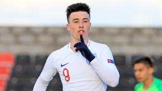 England's Sam Greenwood