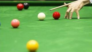 White snooker ball
