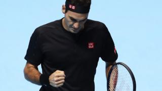 Roger Federer plays Novak Djokovic in ATP Finals