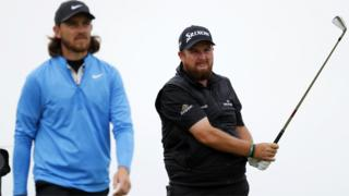 Tommy Fleetwood and Shane Lowry