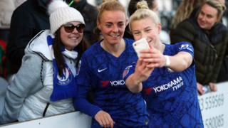 Chelsea's Sophie Ingle and Beth England