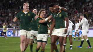 South Africa win World Cup