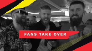 BBC Sport speaks to fans at the UFC 246 weigh-ins to find out who they would like to see win, Conor McGregor or Donald Cerrone.