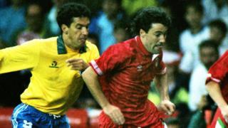 Wales v Brazil 1991