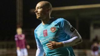 Hearts scorer Craig Wighton