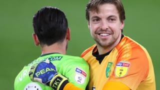 Norwich City goalkeeper Tim Krul