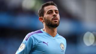 Manchester City forward Bernardo Silva