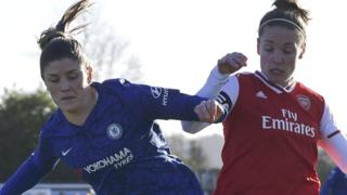 Chelsea v Arsenal in Women's Super League