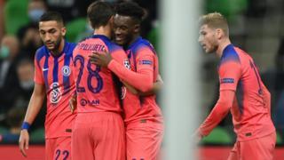 Hudson-Odoi gives Chelsea lead