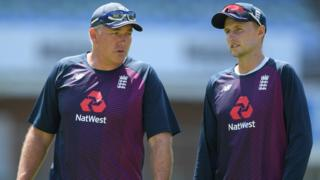 Chris Silverwood and Joe Root