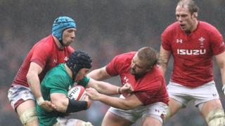 Wales dominate in the rain