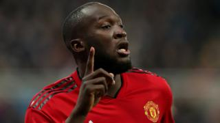 Manchester United forward Romelu Lukaku