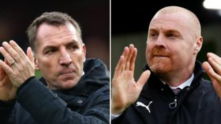 Brendan Rodgers and Sean Dyche