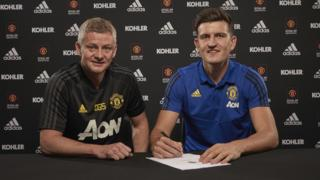 Harry Maguire signs for Manchester United