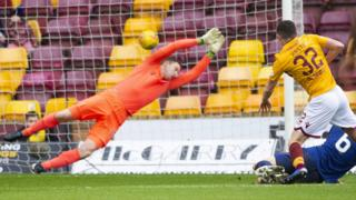 Motherwell v Hearts