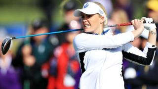 Team Europe's Charley Hull