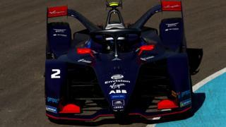 Virgin Racing's Sam Bird