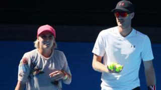 Jamie Murray and partner Bethanie Mattek-Sands