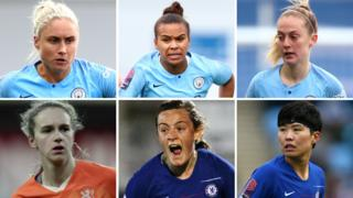 PFA Women's Player of the Year award nominees