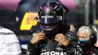 Lewis Hamilton at Sochi