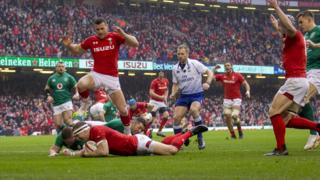 Wales v Ireland in Six Nations
