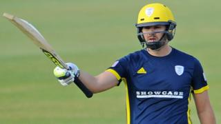 Rilee Rossouw of Hampshire