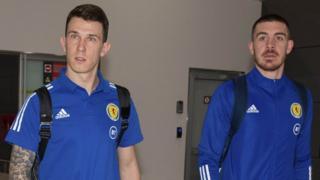 Ryan Jack and Declan Gallagher