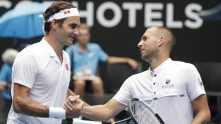 Roger Federer & Dan Evans