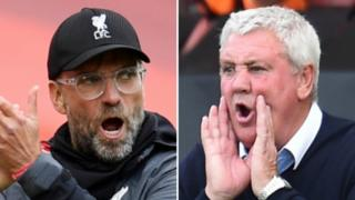 Jurgen Klopp and Steve Bruce