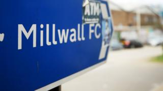 A sign for Millwall FC