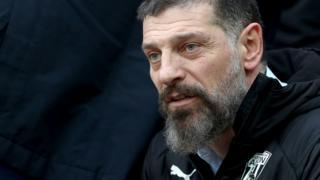 West Bromwich Albion head coach Slaven Bilic