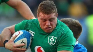 Sean Cronin is dropped from Ireland's 37-man squad after making his first ever Six Nations start in Rome