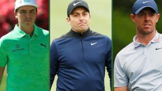 Rickie Fowler, Francesco Molinari & Rory McIlroy