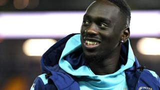 Leeds United's new signing Jean-Kevin Augustin