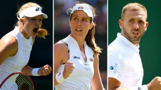 Harriet Dart, Johanna Konta and Dan Evans lead Britons at Wimbledon