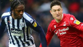 West Brom v Nottingham Forest