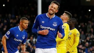 Everton's Gylfi Sigurdsso