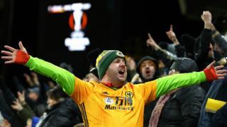 Wolves fan