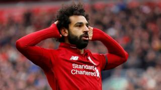 Liverpool goalscorer Mohamed Salah