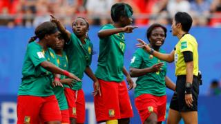 Cameroon Women's team