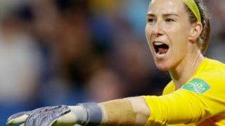 Manchester City and England goalkeeper Karen Bardsley