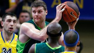 Robert Archibald in action for Unicaja Malaga