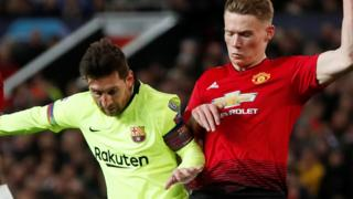 Messi and McTominay