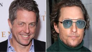 Hugh Grant and Matthew McConaughey
