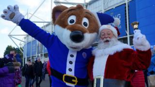 Leicester Santa