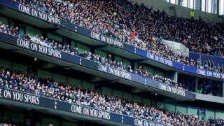 Fans at White Hart Lane