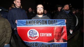 Bolton protest