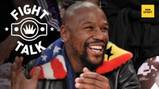 American former world champion Floyd Mayweather