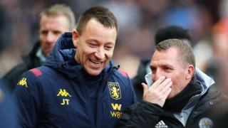 Aston Villa v Leicester