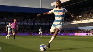 Still of Kiyan Prince during game action in Fifa 21